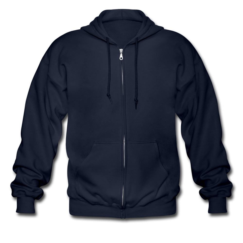 Men's Heavyweight Hooded Jacket - navy