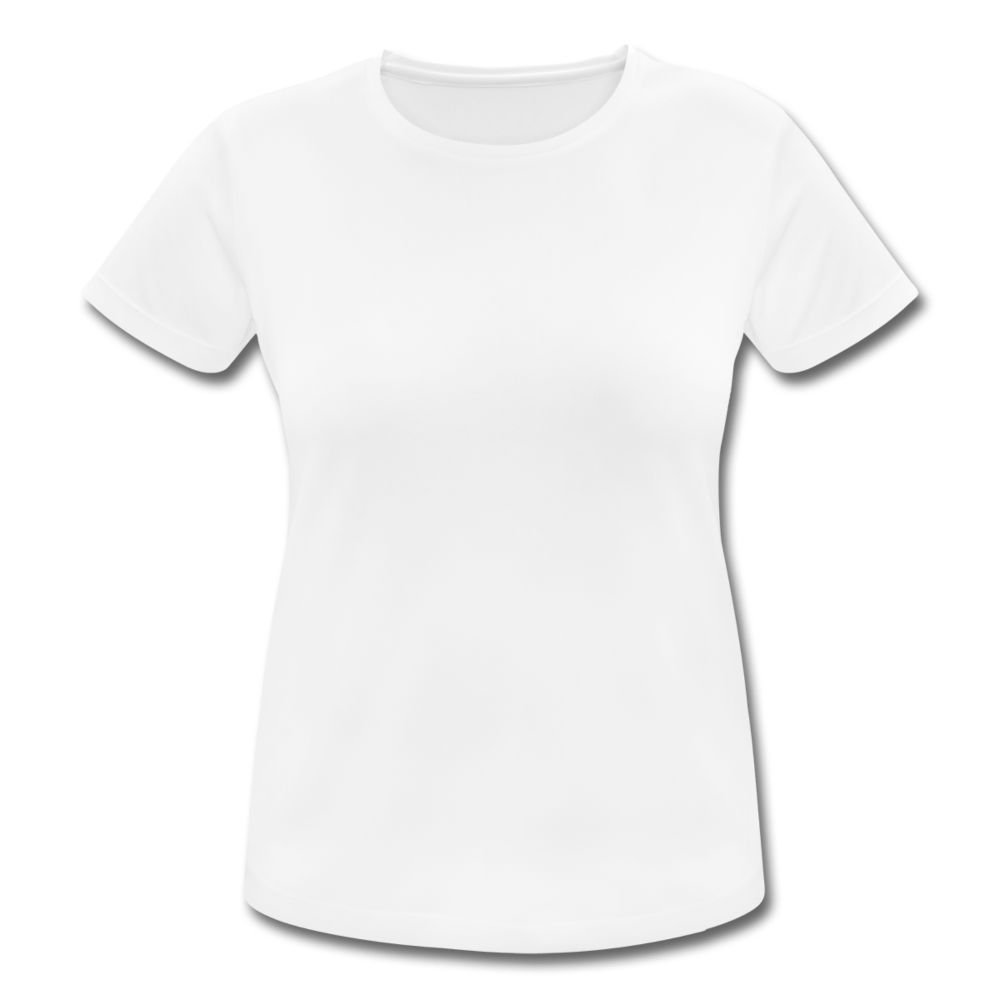 Women's Breathable T-Shirt - white