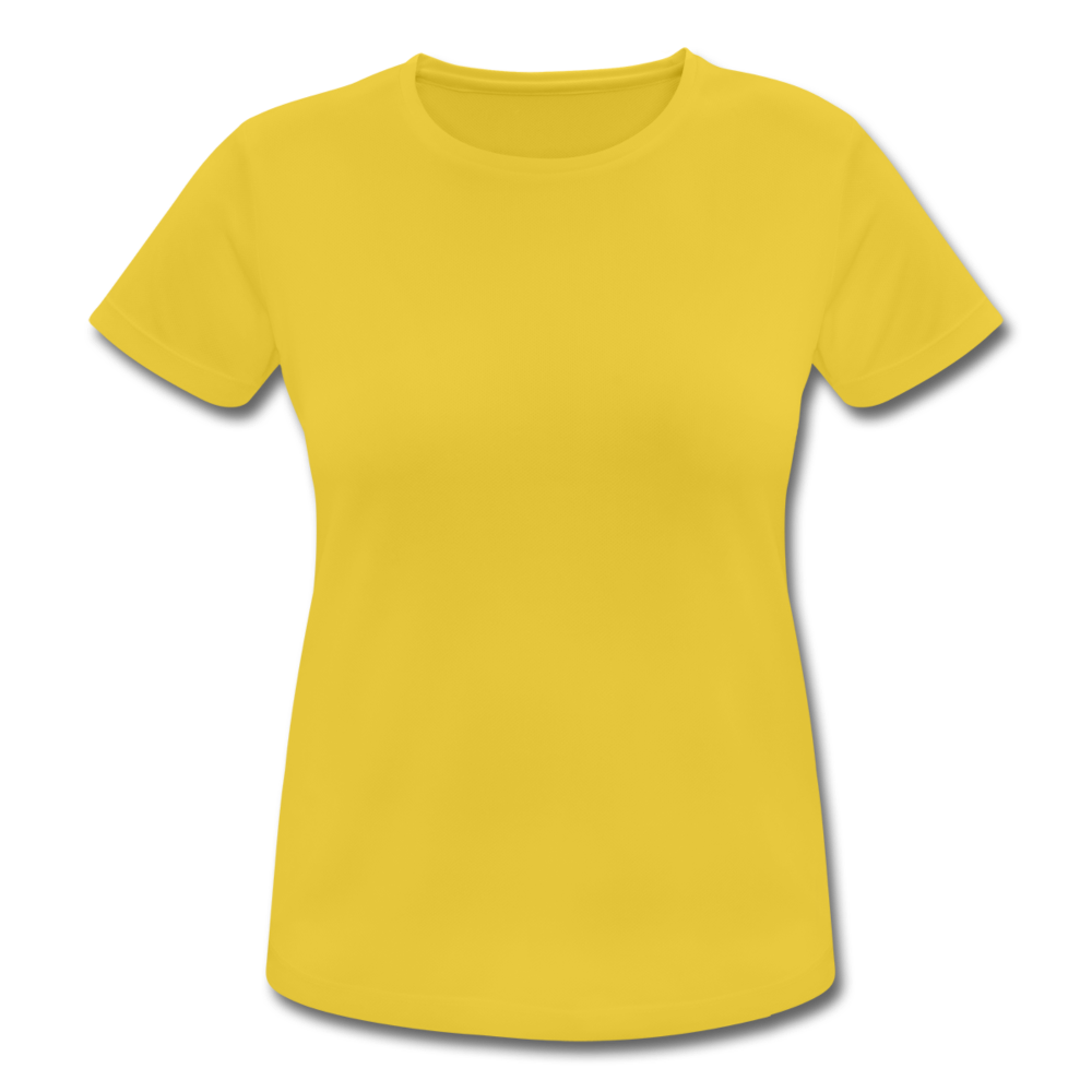 Women's Breathable T-Shirt - sunshine
