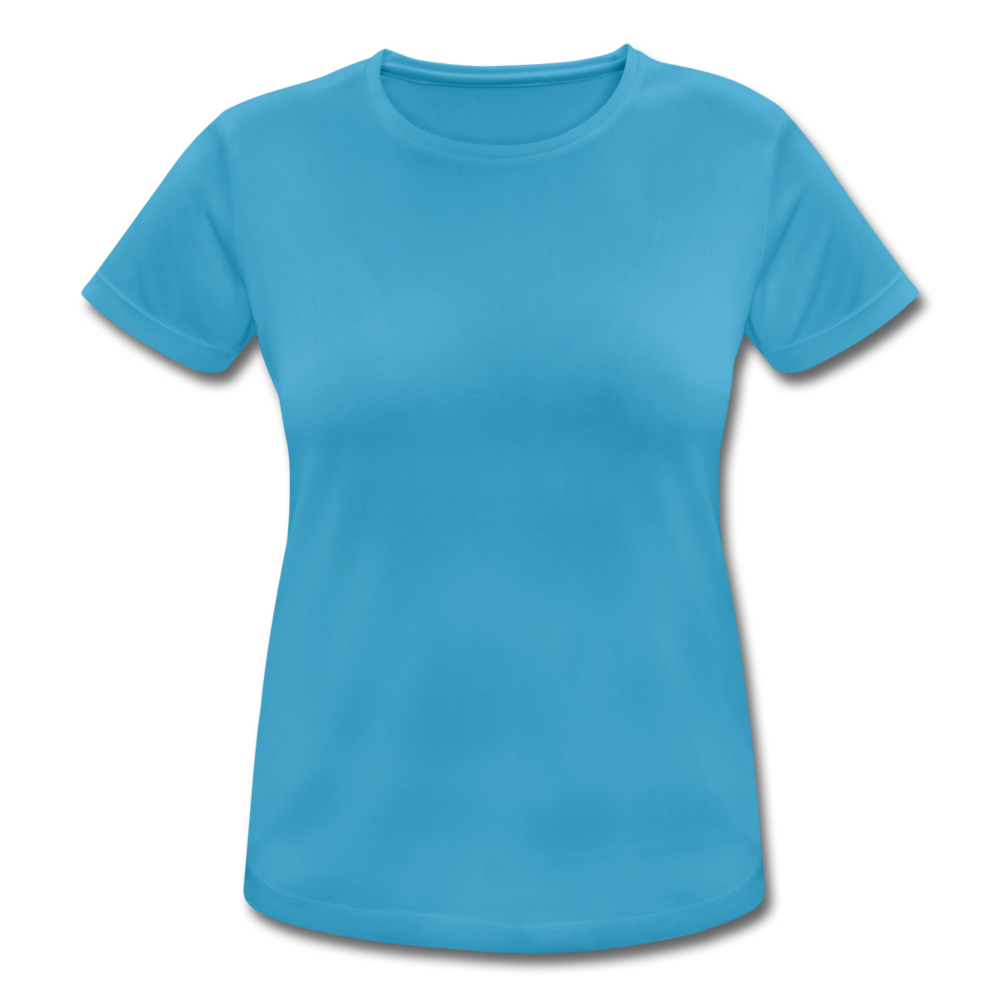 Women's Breathable T-Shirt - sapphire blue