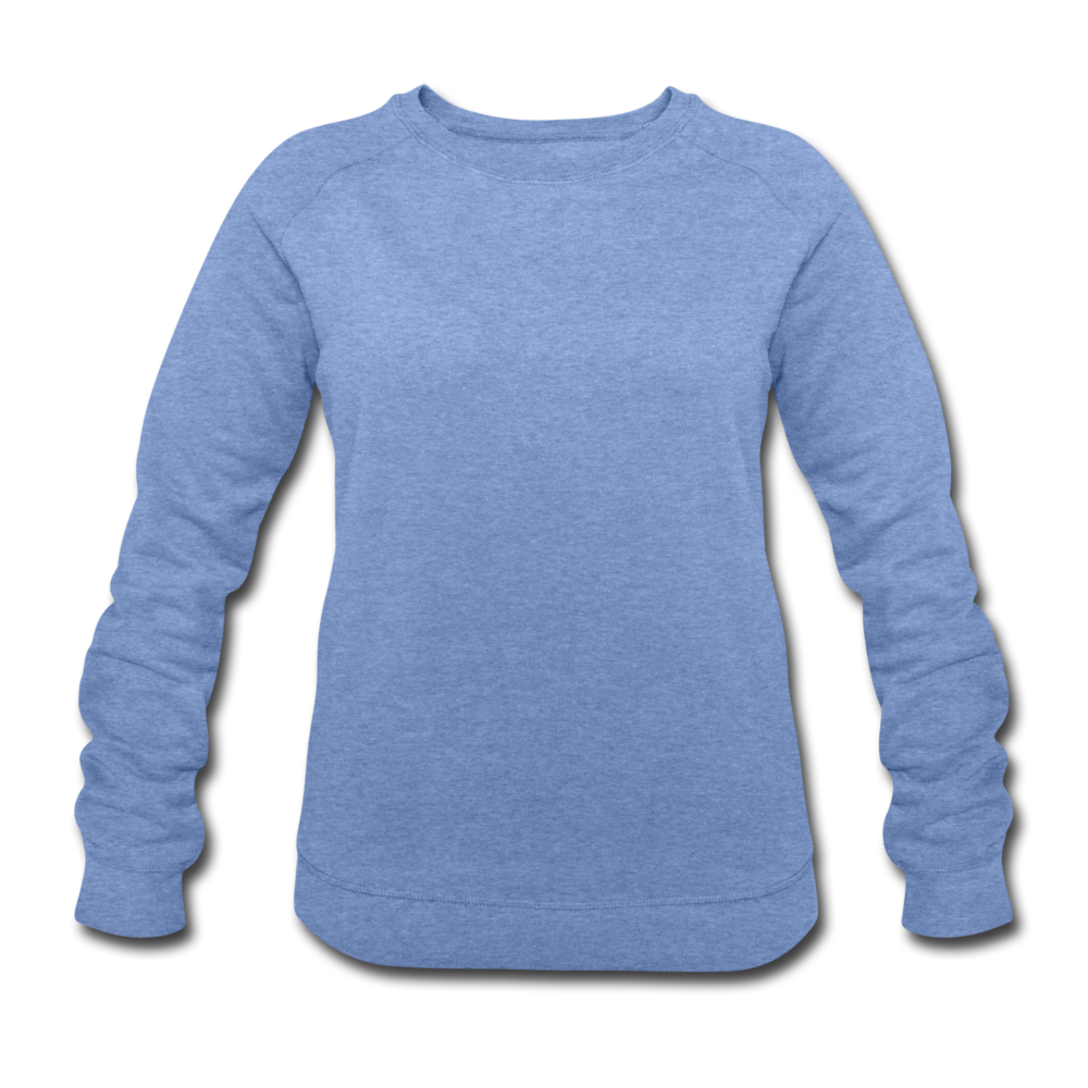 Women's Organic Sweatshirt by Stanley & Stella - heather blue