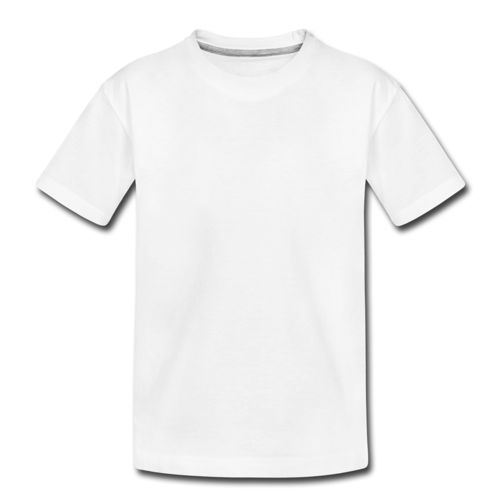 Toddler Premium Organic T-Shirt - white
