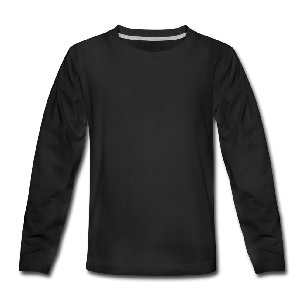 Kids' Premium Longsleeve Shirt - black