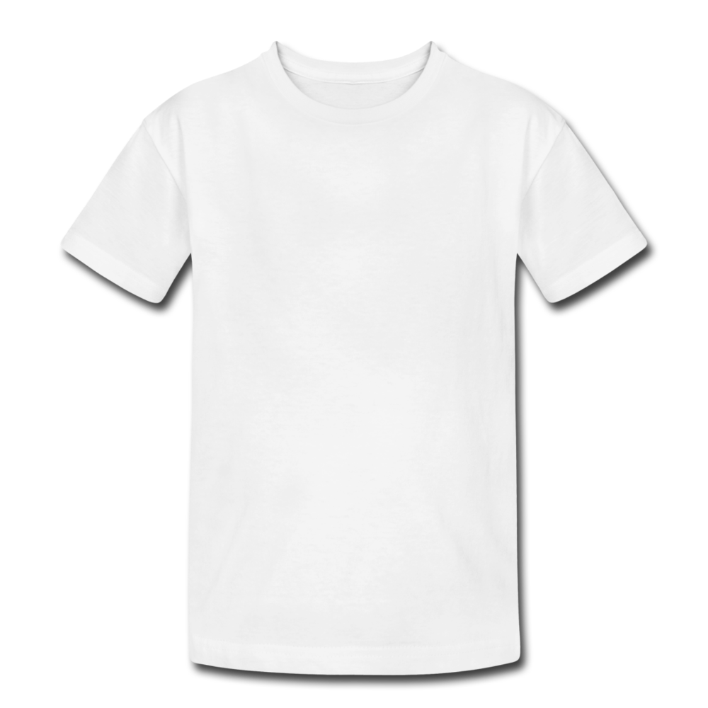 Kids' Heavy Cotton T-Shirt - white