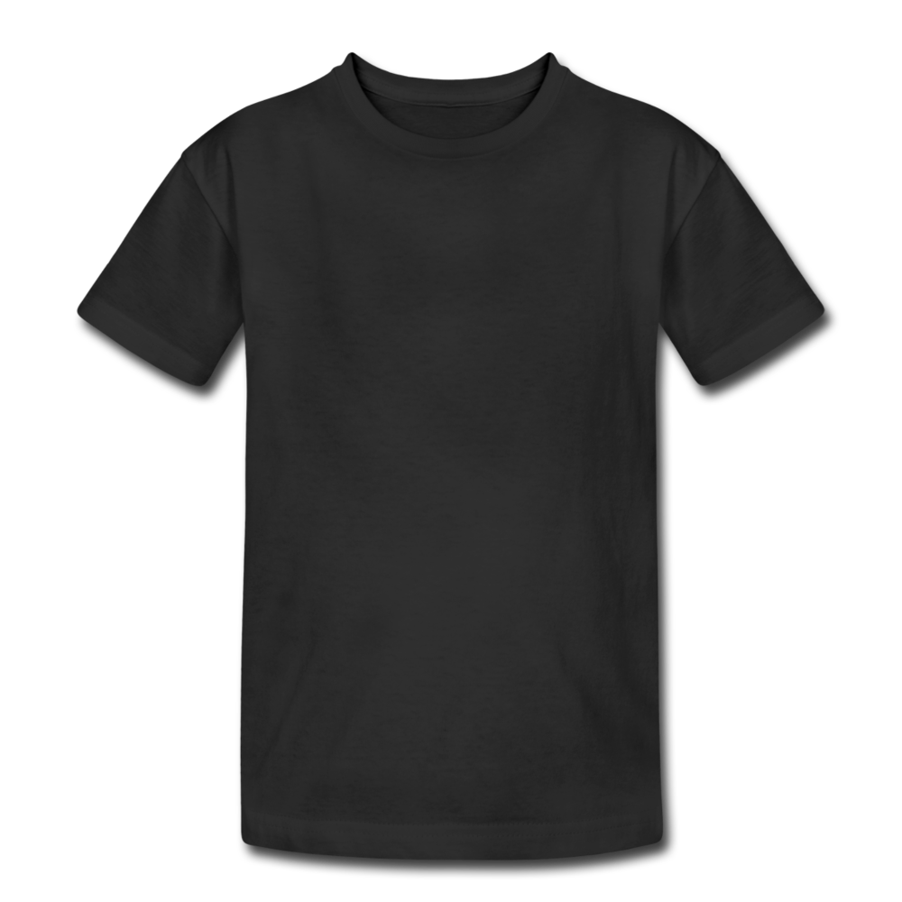 Kids' Heavy Cotton T-Shirt - black