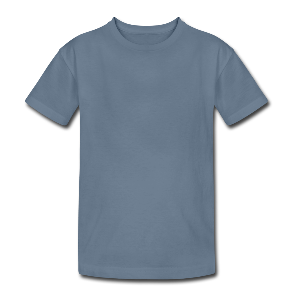 Kids' Heavy Cotton T-Shirt - steel blue