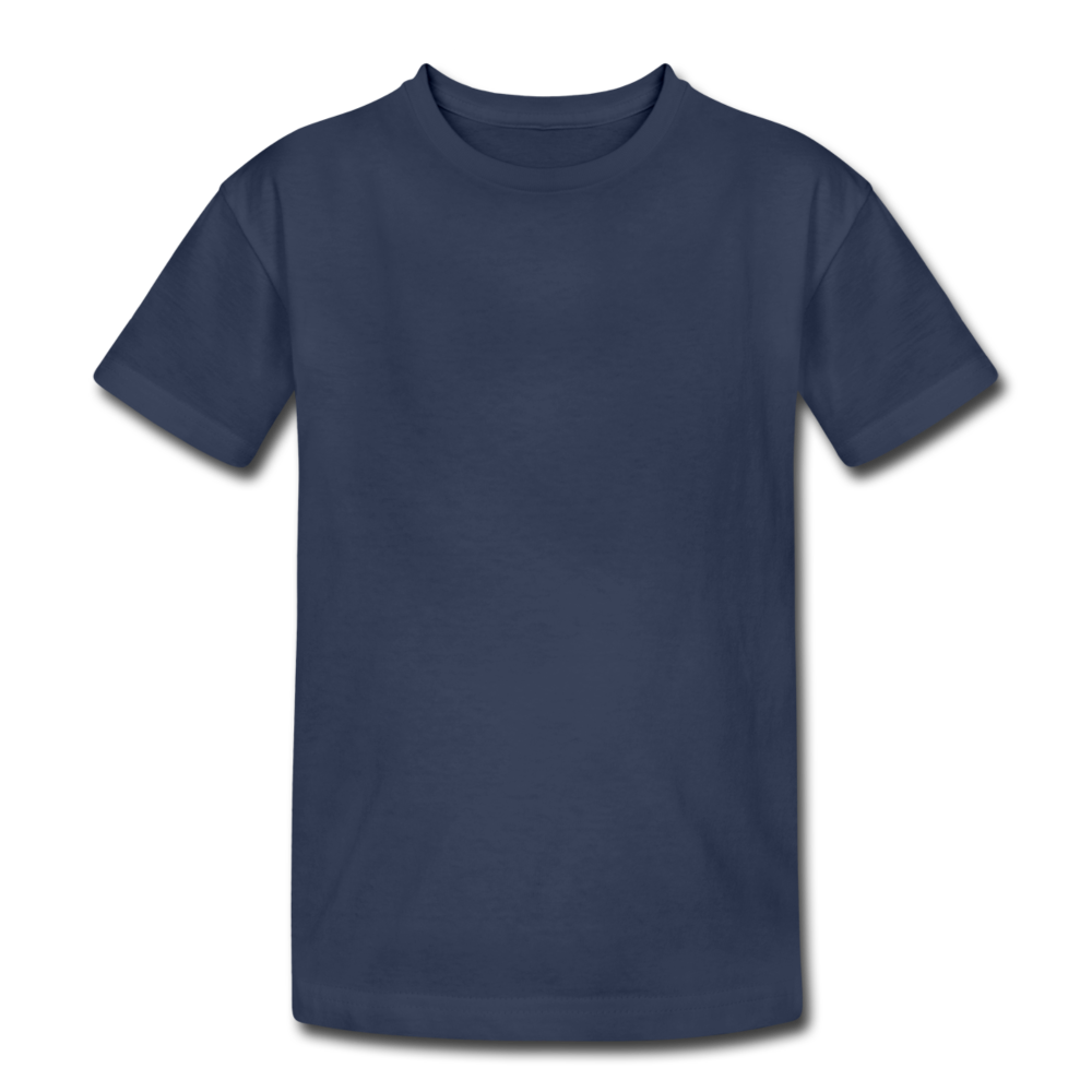 Kids' Heavy Cotton T-Shirt - navy