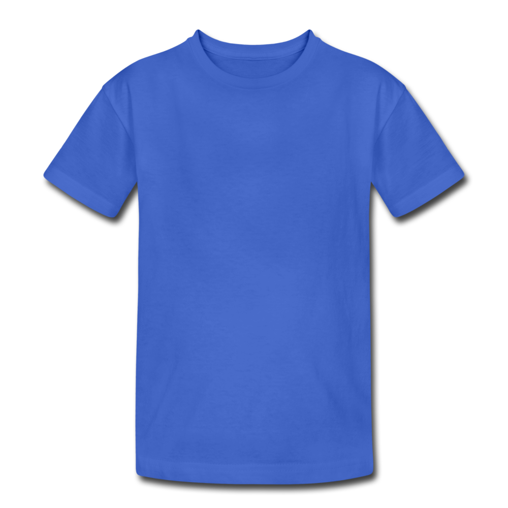 Kids' Heavy Cotton T-Shirt - royal blue