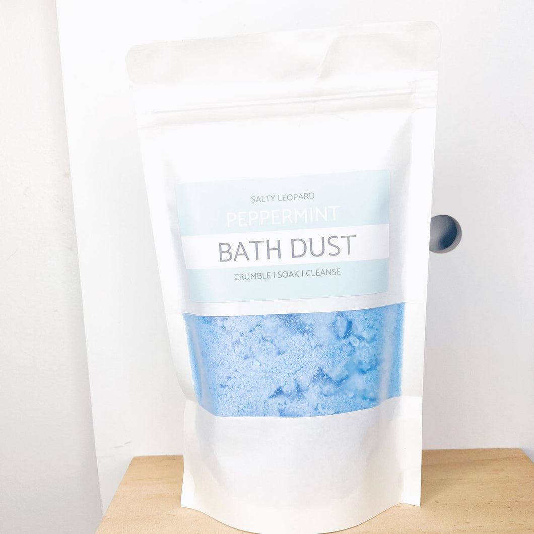 Peppermint Bath Dust