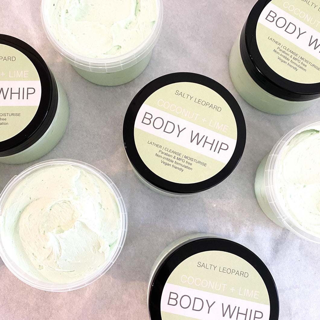 Coconut + Lime Whipped Soap