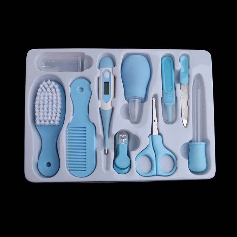 Baby Health Care Set Portable Newborn Baby Tool Kits Kids Grooming Kit Safety Cutter Nail Care Set M09