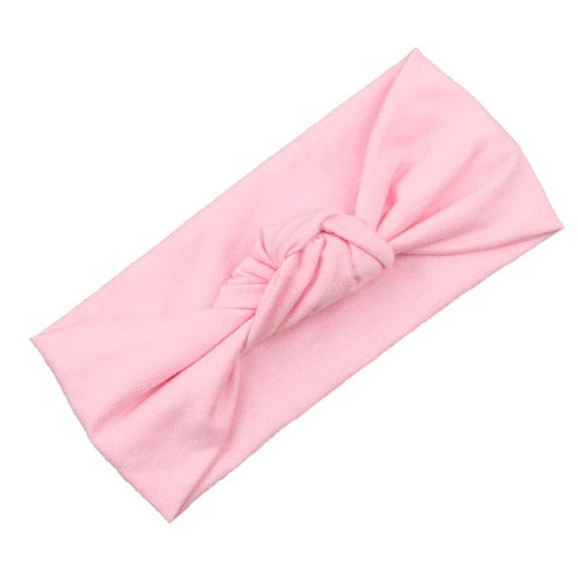 Fashion Knot Baby Headband For Girls Newborn Baby Elastic Headwear Baby Accessories Baby Girls Headbands