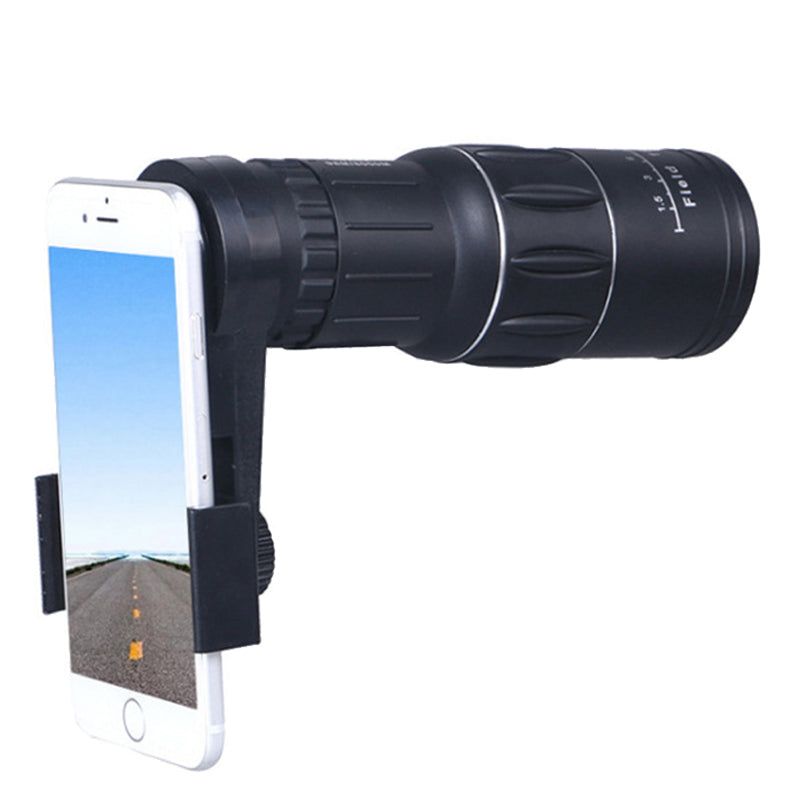 16x52 HD Zoom Optical Monocular Telescope Phone Lens Hiking Concert Phone Camera Lens Universal For Samsung iPhone Smartphones