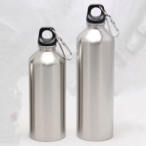 Portable Aluminum Water Bottles Flask Double Wall Vacuum Insulated Bottle Sports Travel Climbing Hiking Bottles 500ML 750ML