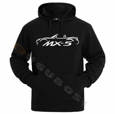 MAZDA MX5 EUNOS ROADSTER MK3 INSPIRED CAR Hoodies
