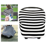 Baby Car Seat Canopy  Nursing Cover Multifunctional Infant Car Seat Cover Infant Car Canopy Baby Car Seat Cover
