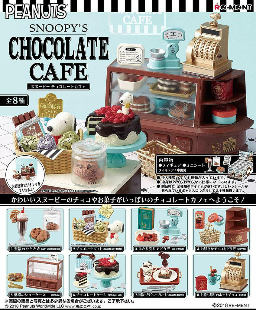 Kuji - Snoopy Chocolate Cafe<br>[BLIND BOX]