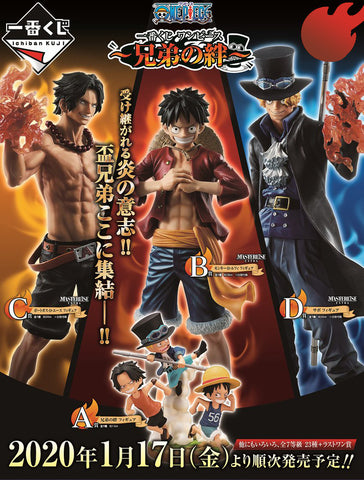 Kuji - One Piece - The Bonds Of Brothers