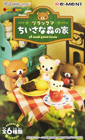 Kuji - Rilakkuma - A Small Forest House <br>[BLIND BOX]