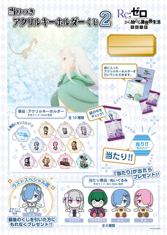 Kuji - Re:Zero - A Different World 2 Mini Kuji (OOS)