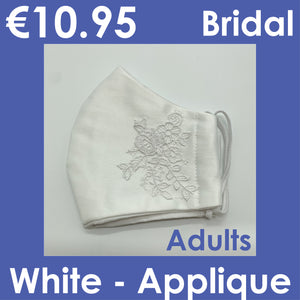 Fancy Fabric Masks - Bridal
