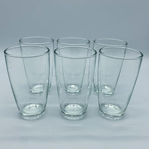 Curve Tumbler Glasses - Set of 6 - LG-100316