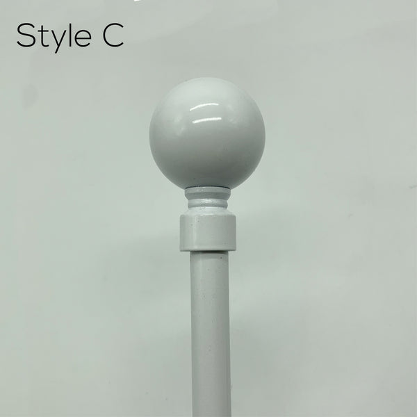 Curtain Rods - Single (Dia 16-19mm)