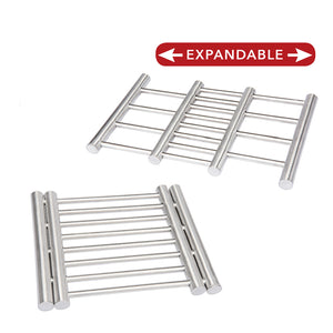 Stainless Steel Expandable Trivet