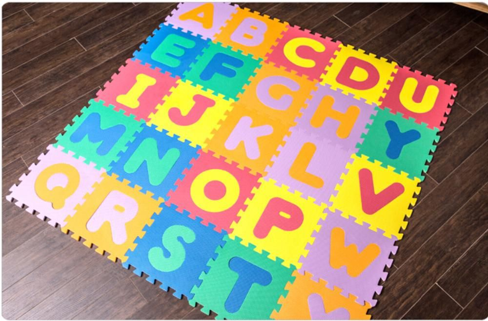 Interlocking EVA Foam Alphabet mats 26 pieces