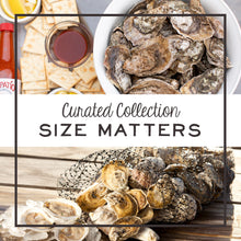 Load image into Gallery viewer, oyster, oysters, oyster sampler, chunu, chincoteague salt