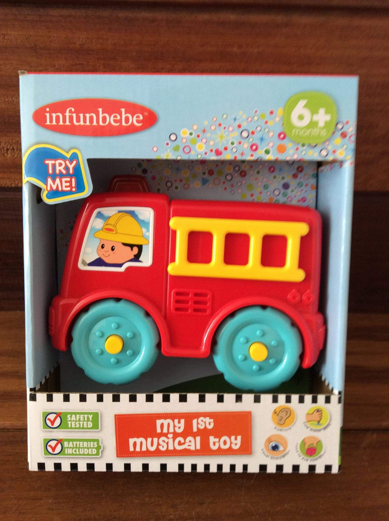1st Musical Toy - Fire Engine