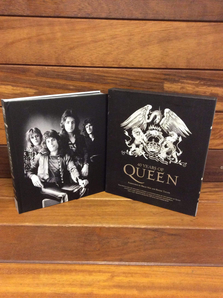 40 Years of Queen Hardback complete with CD