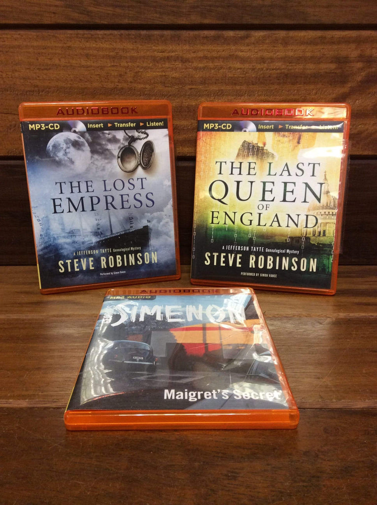 A Collection of MP3 Audiobooks Author Steve Robinson
