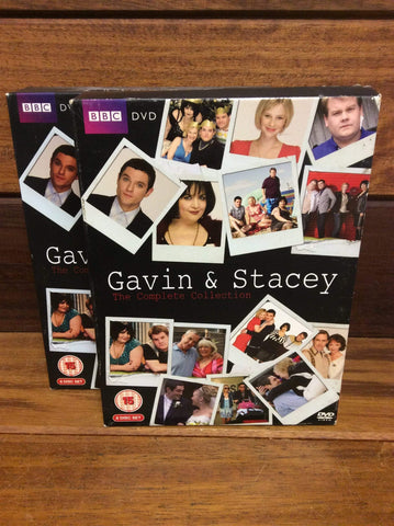BBC Gavin & Stacey DVD Box set 6 disks