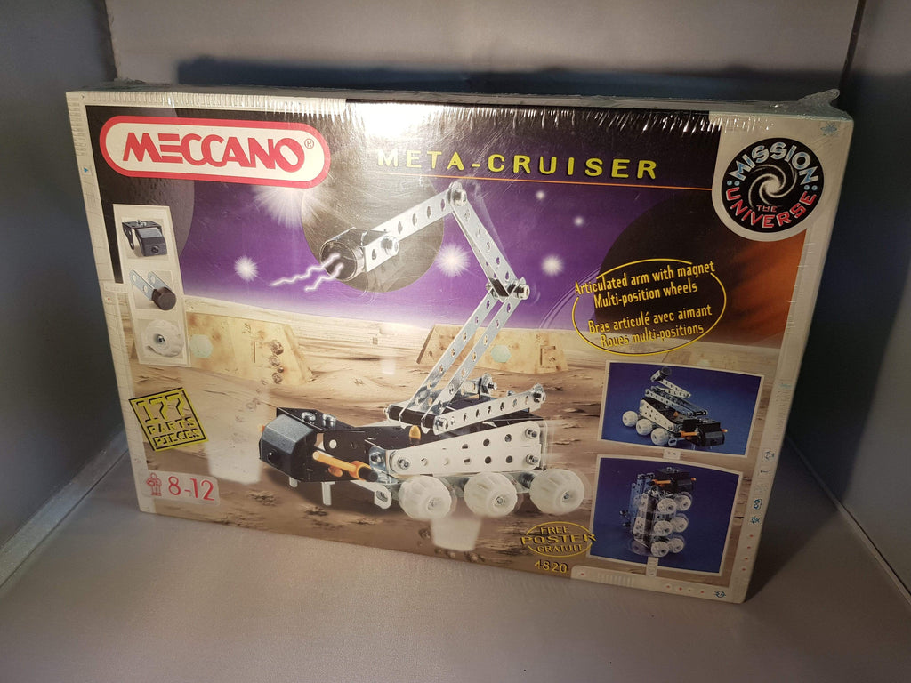 Brand New Meccano playset META-CRUISER model 4820 ages 8 to 12