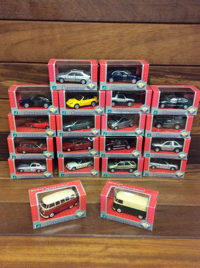 Cararama collection of 20 cars. boxed, but not secured.