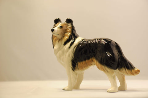 Ceramic Sheepdog ornament
