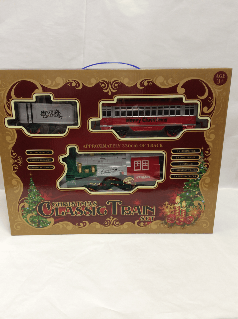 Christmas Train Set - Battery Operated