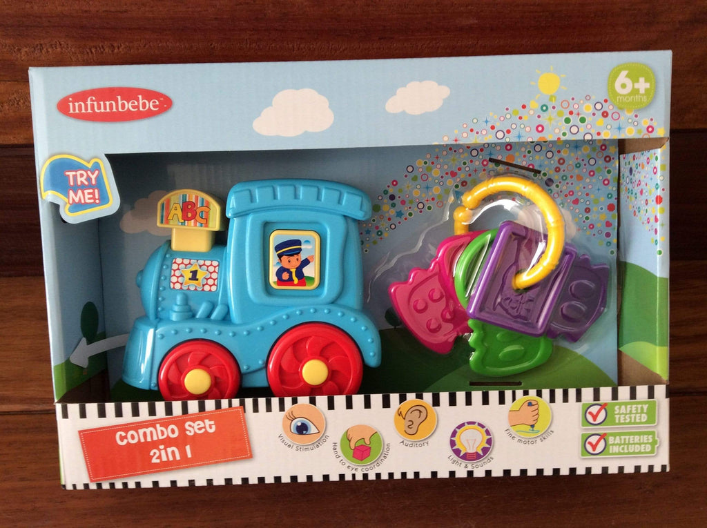 Combo toy set - Train and Teether