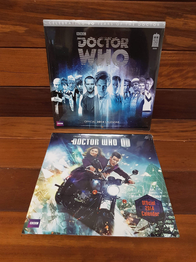 Doctor Who Calendar Collection 4 x new and sealed!