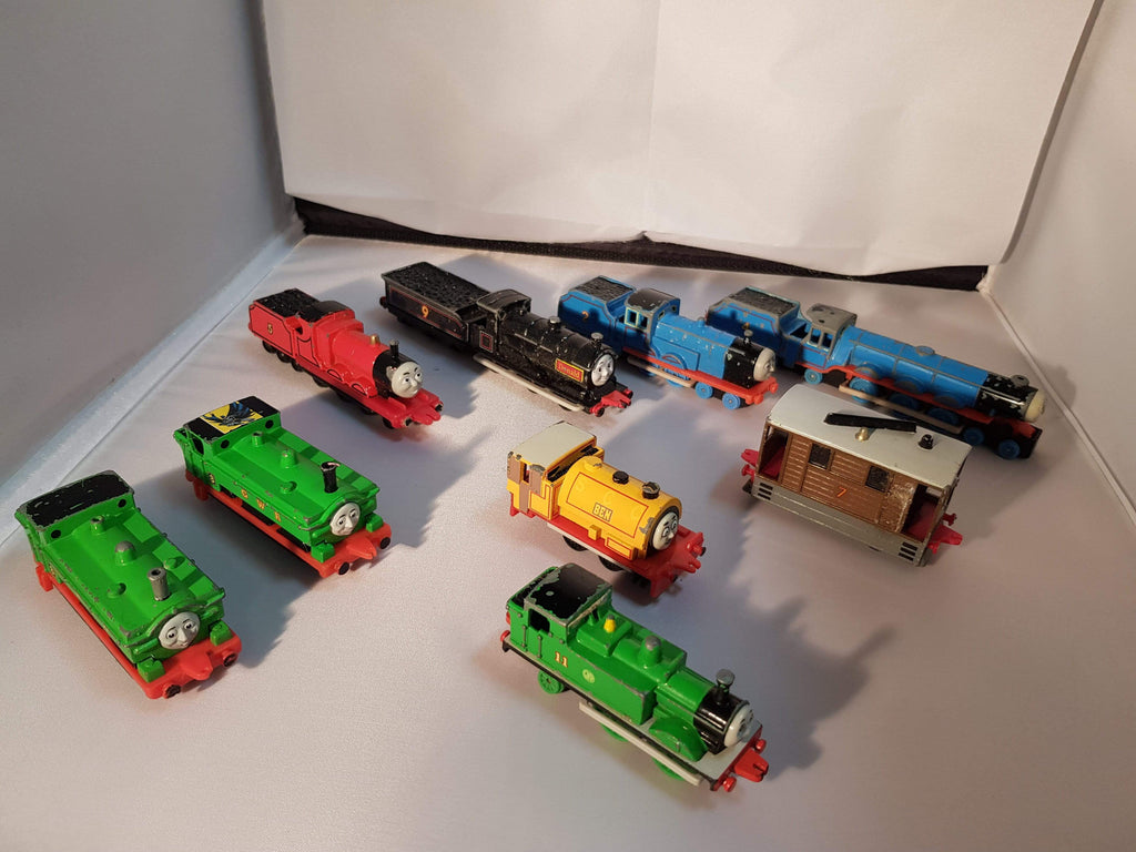 Ertl Thomas the Tank Engine Colection... 9 pieces.