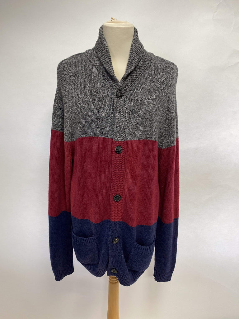 Gap Men's Long knitted Chunky Knit Cardigan UK Size Large