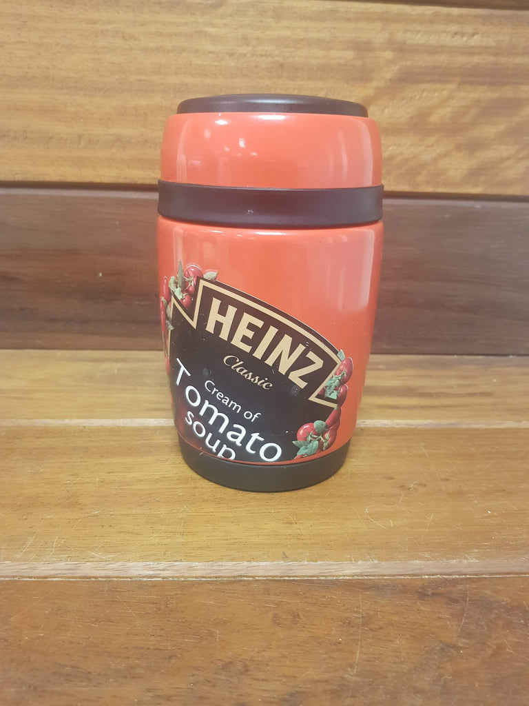 Heinz Tomato soup flask with cup and spoon