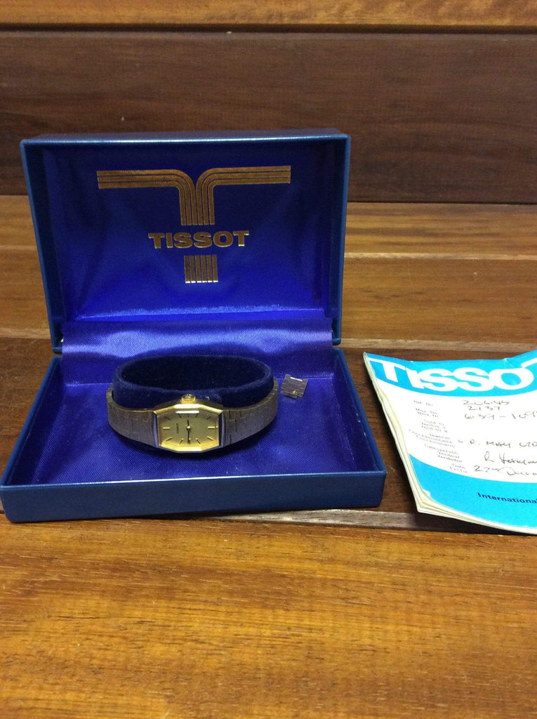 Ladies' Tissot vintage wristwatch (manual) with box and g'tee
