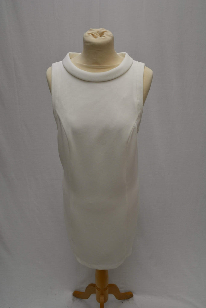 M&S Autograph White 50s mini dress rrp£69 UK Size 6