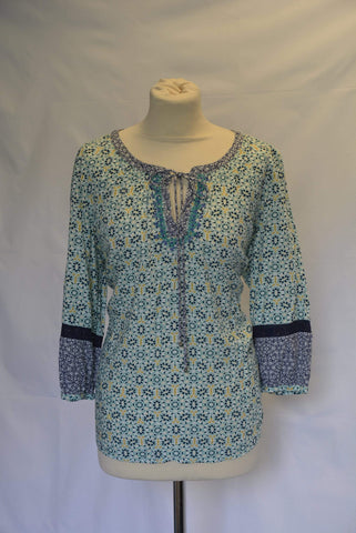 M&S Per Una Boho Ladies Tunic Top UK Size 16