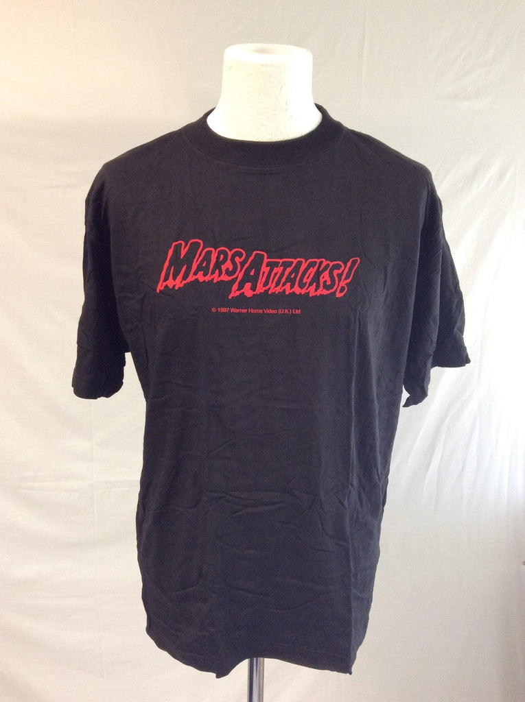 Mars Attacks ! Warner Brothers VHS Launch promotional tee shirt Size XL