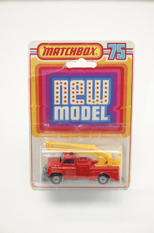 Matchbox carded Fire engine toy 1976