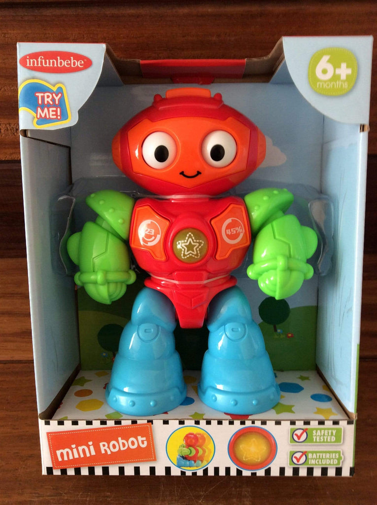 Mini Robot Toy suitable for 6 months +