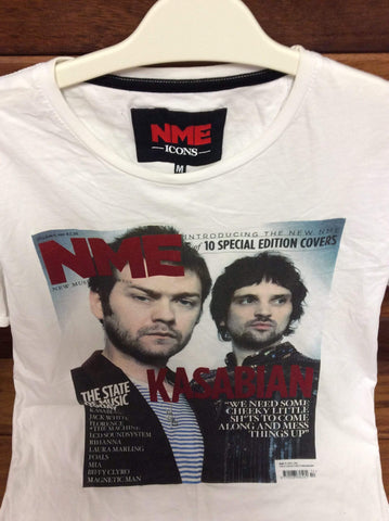 NME Icons Tee Shirt -  Kasabian UK Size Medium
